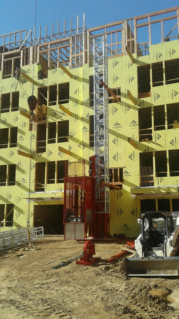 Multifamily condos construction project