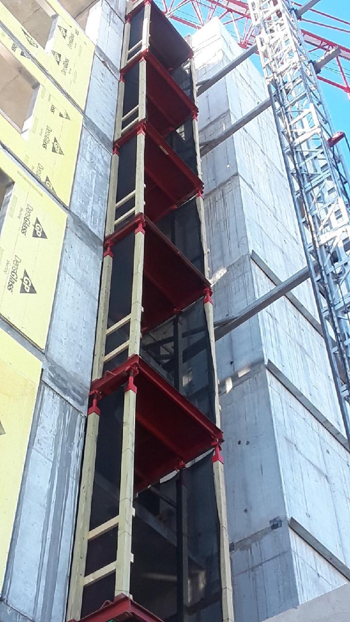 Buck hoist services for building construction
