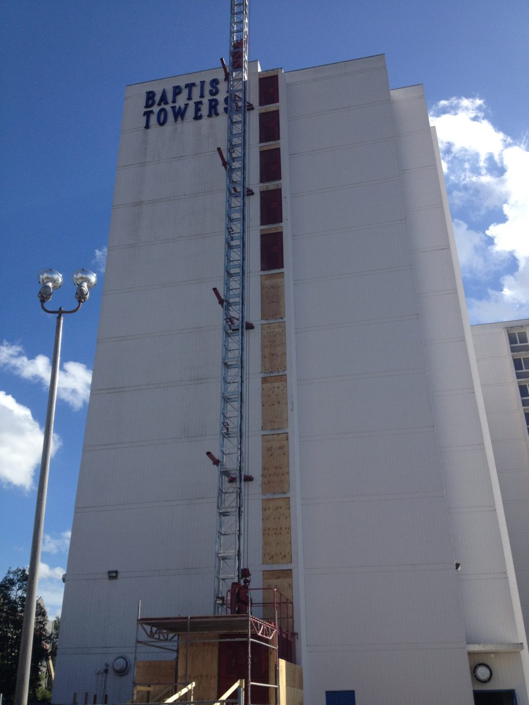 Renovation project of Baptist Tower