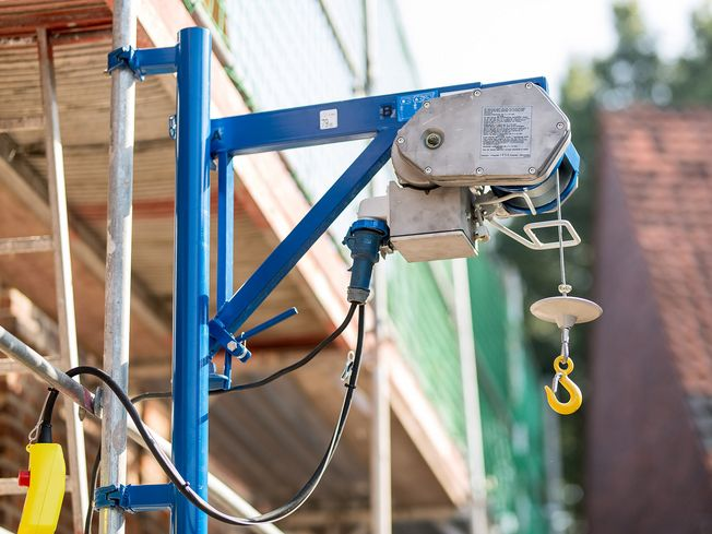 construction winch